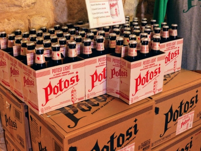 Potosi beer on sale