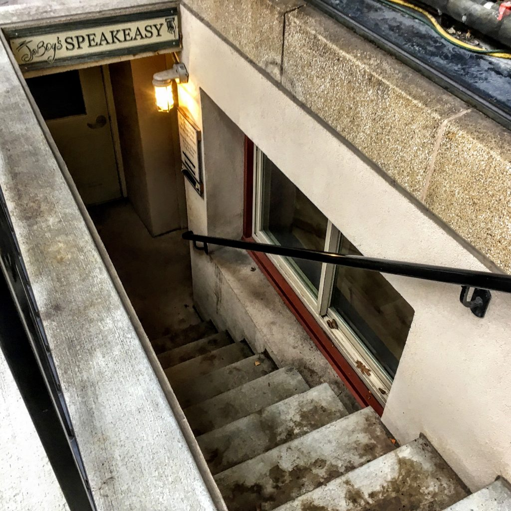 basement speakeasy