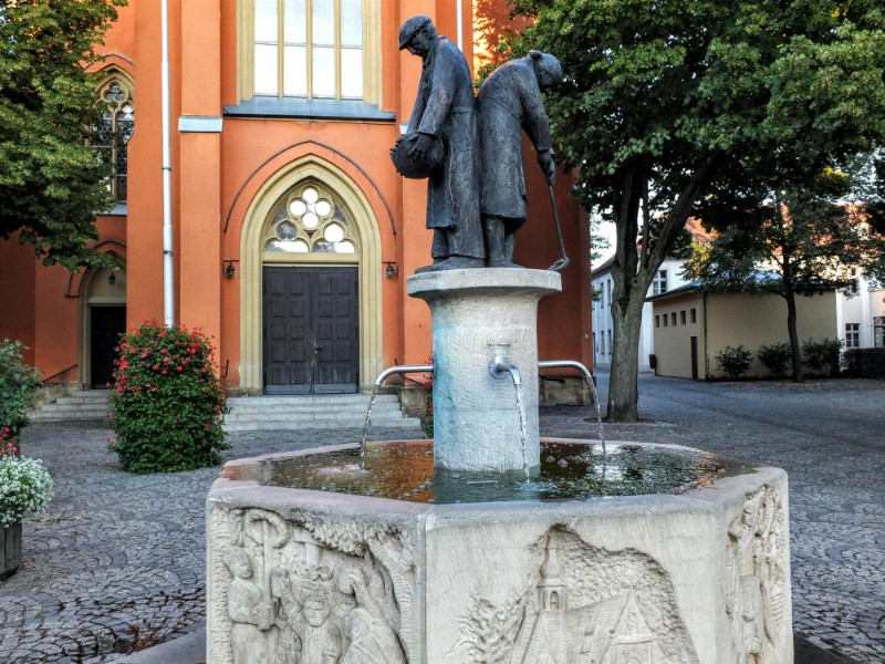 Pfarramt Maria Hilf fountain