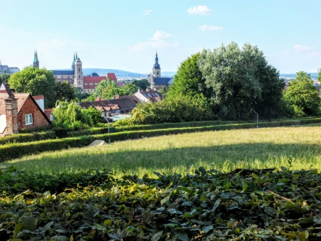 view to city center from Spezial Keller