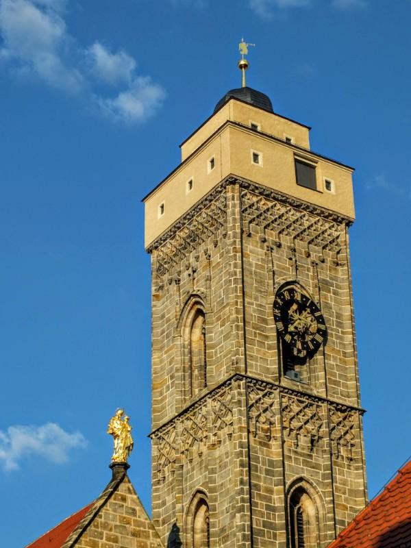 Obere Pfarre tower