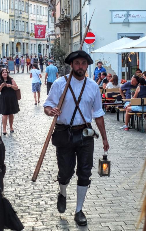 Bamberger Nachtwächter - night watchman