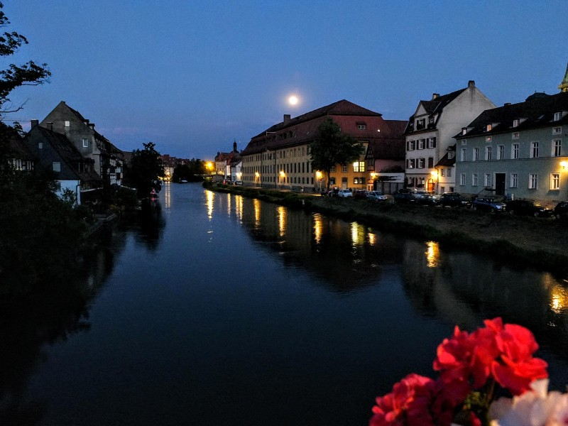 Regnitz twilight
