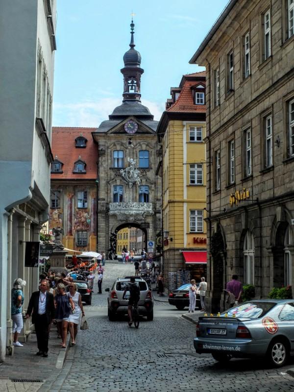 old Rathaus gate