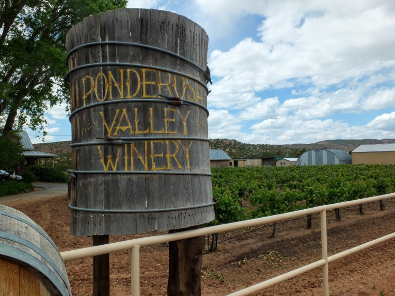 Ponderosa Winery is off the beaten track