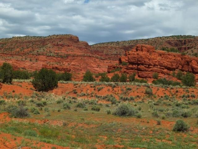 red rock near Jemez Pueblo