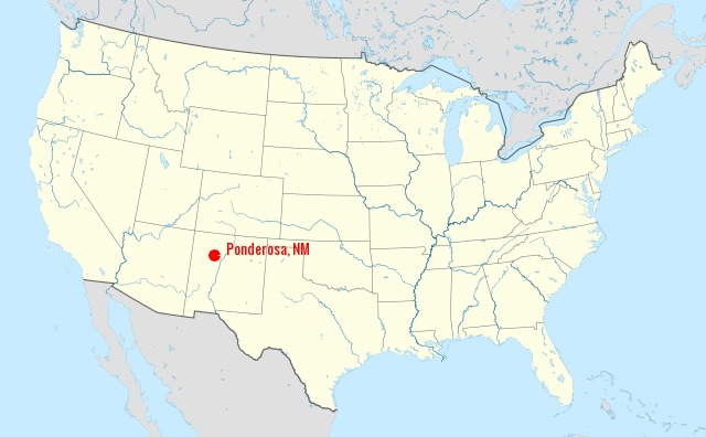location of hike in U.S.A.