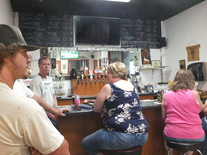 Harvest Moon Brewing Company taproom