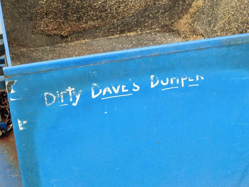 Dirty Dave's Dumper at Harvest Moon