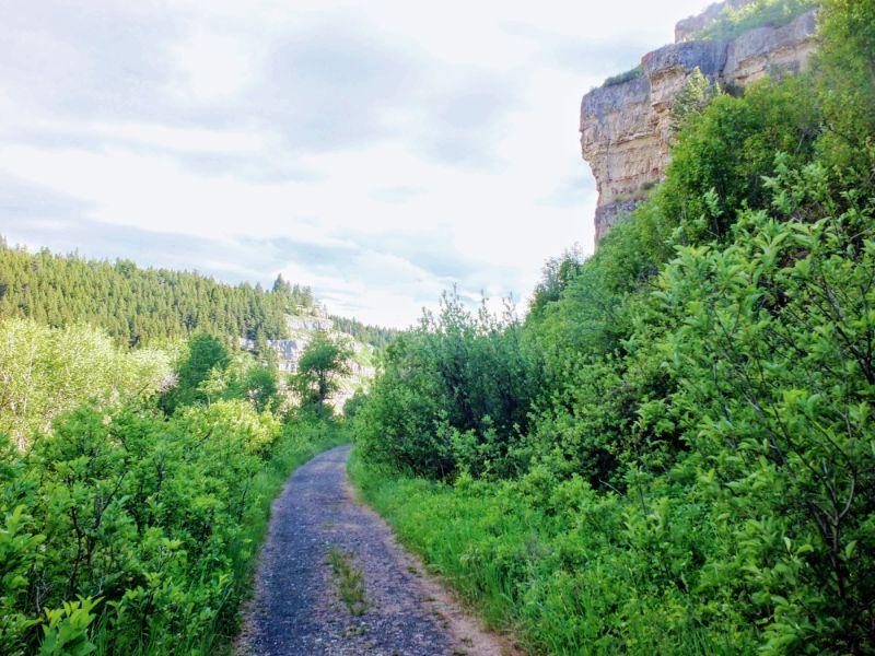 trail on rail grade
