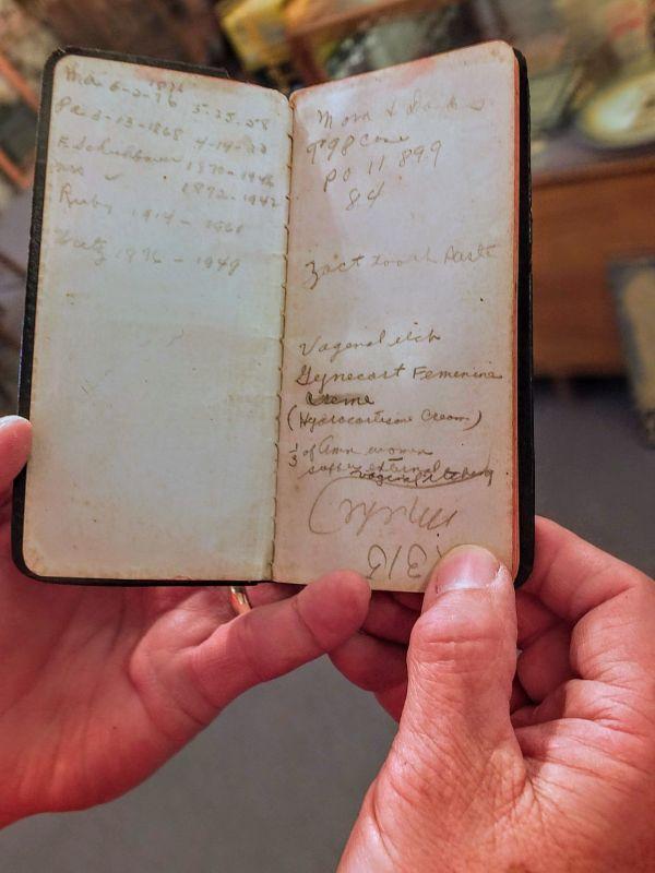 Brewer's notebook