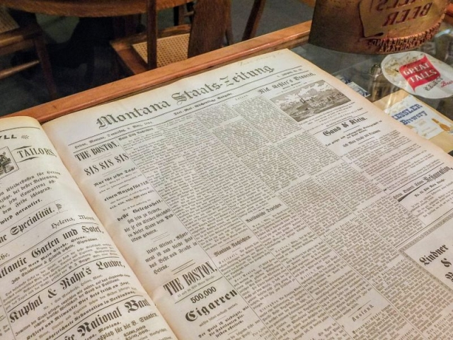 collection of Montana German language newspapers