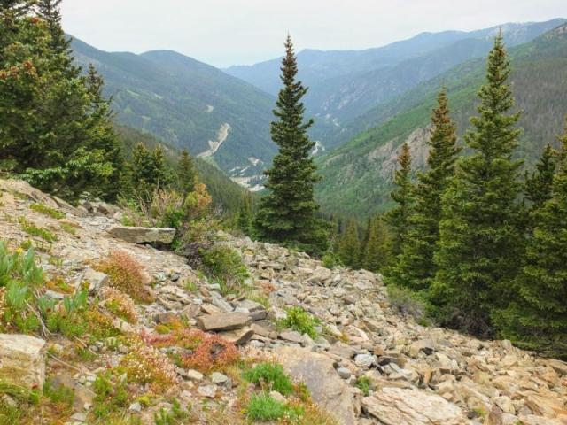 view to Taos Ski Valley