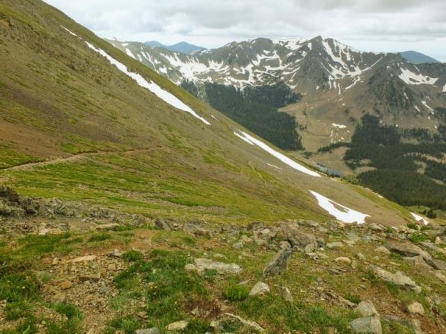 descending trail