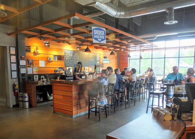 Switchback Brewing Company taproom
