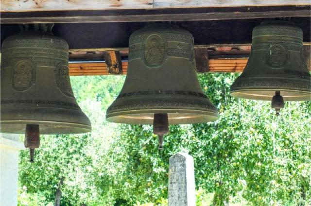 bells at Morača Monastery