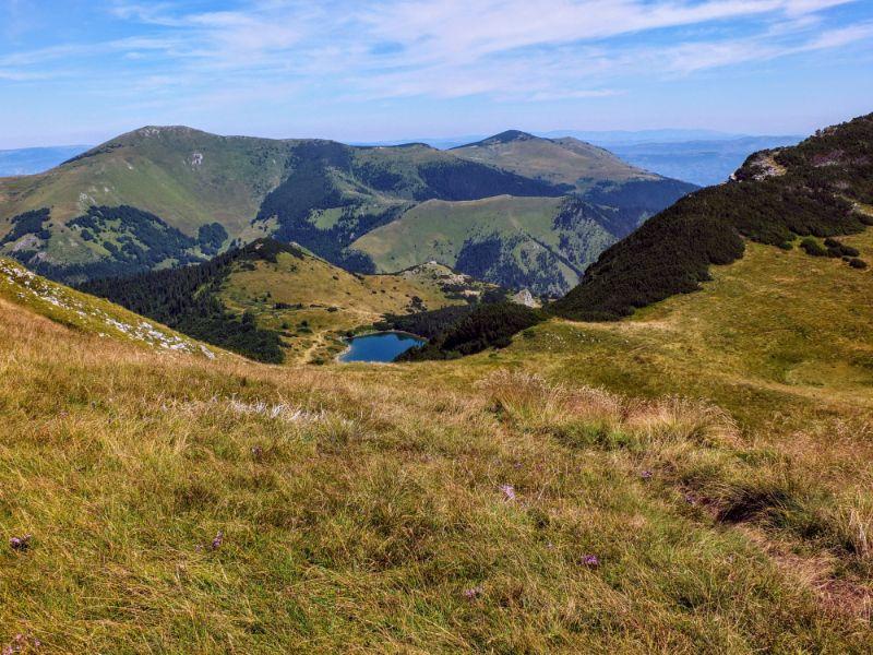 other side of the ridge - Lake Ursulovačko