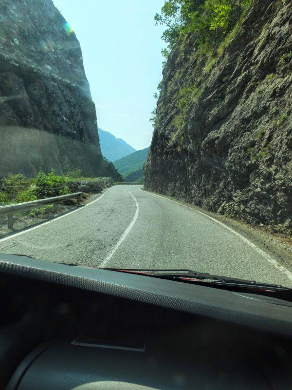 no super highways in Montenegro ...