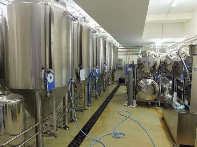 Mammut Pivo fermenters