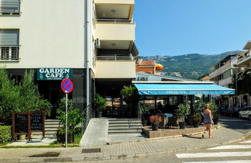 Garden Cafe - Budva
