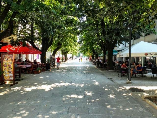 downtown Cetinje