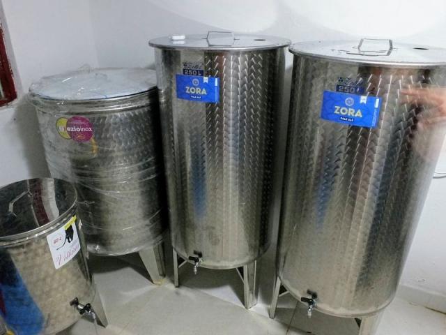 Montenegro Brewing fermenters