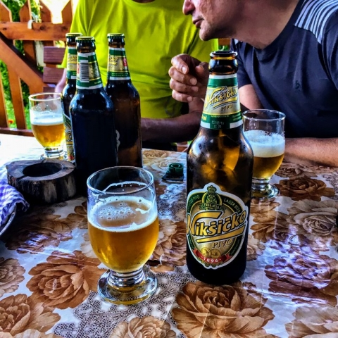 after-hike beer