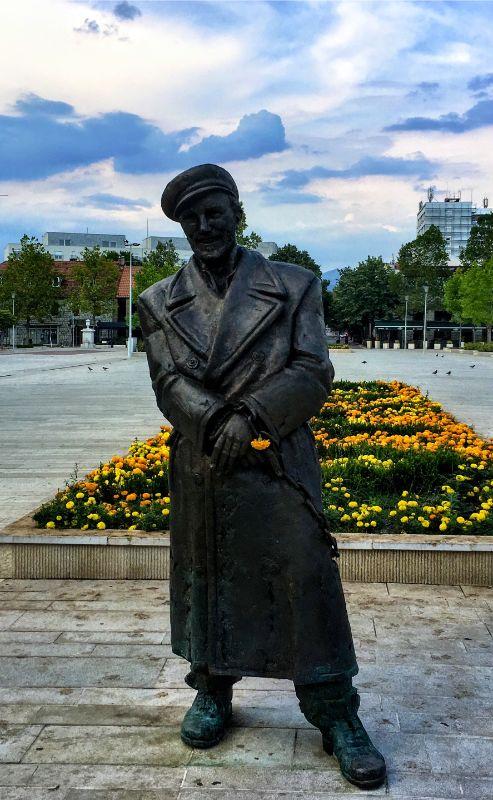 Ljubo Cupic statue