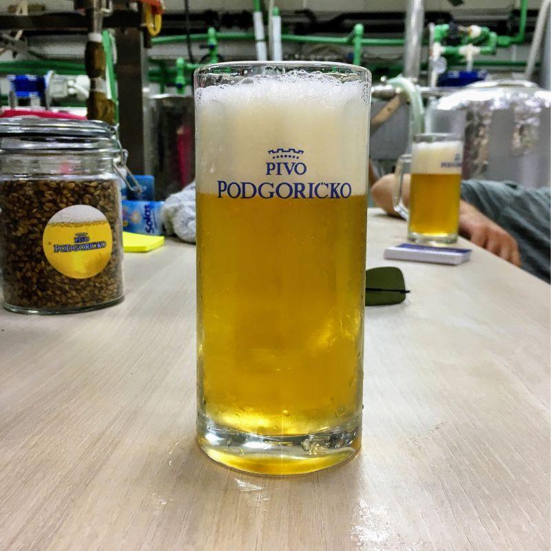 Pivo Podgorica lager