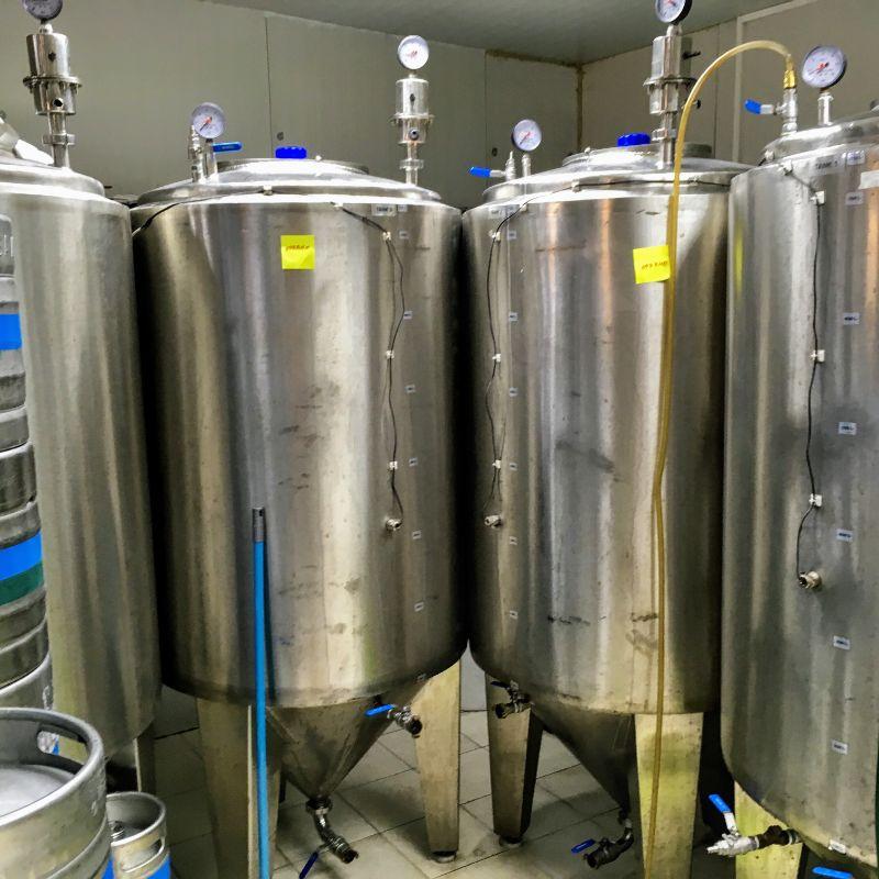 Podgorica Pivo fermenters