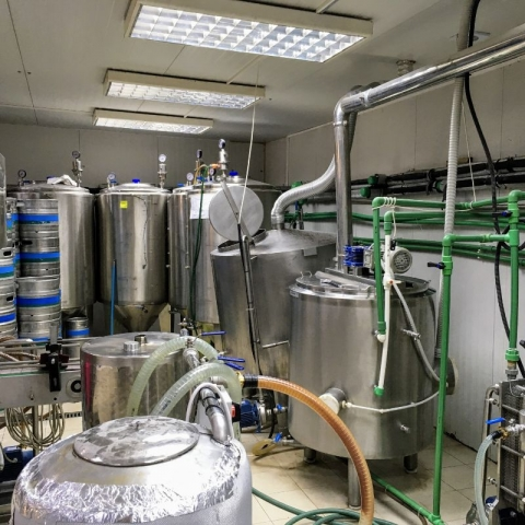 Podgorica Pivo brewhouse