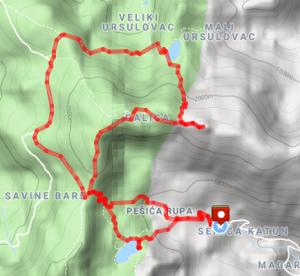 Crna Glava loop hike