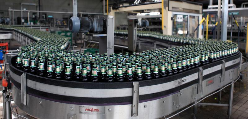 Trebjesa Brewery Bottling Line (image by vjesti)