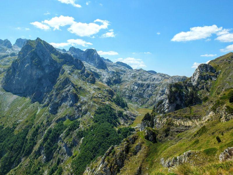 the ridge ahead