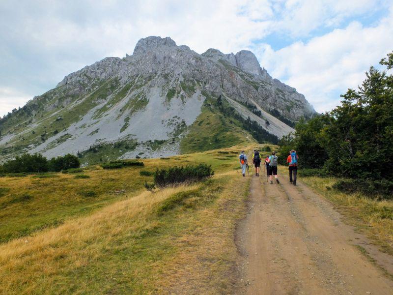 Mountain Wreath Trail