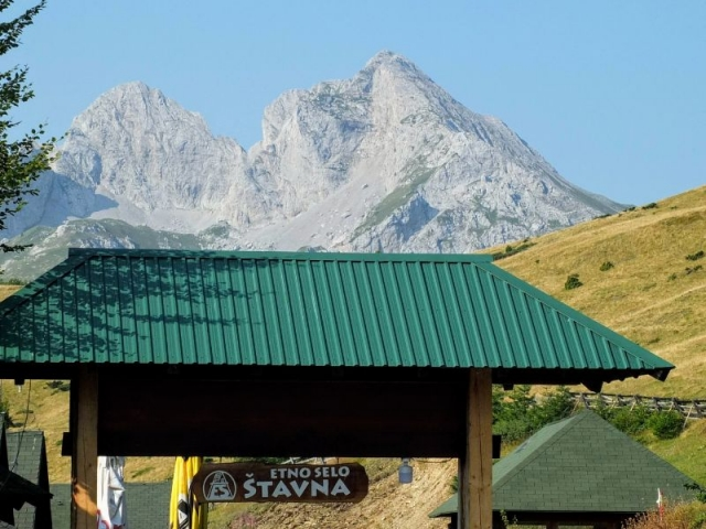spectacular view of Komovi massif