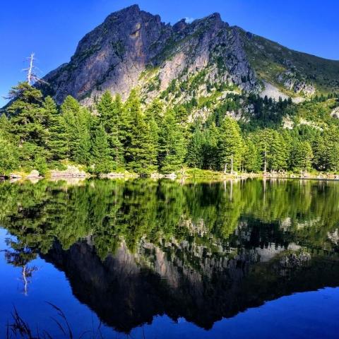 lake reflection - Bogićevića massif