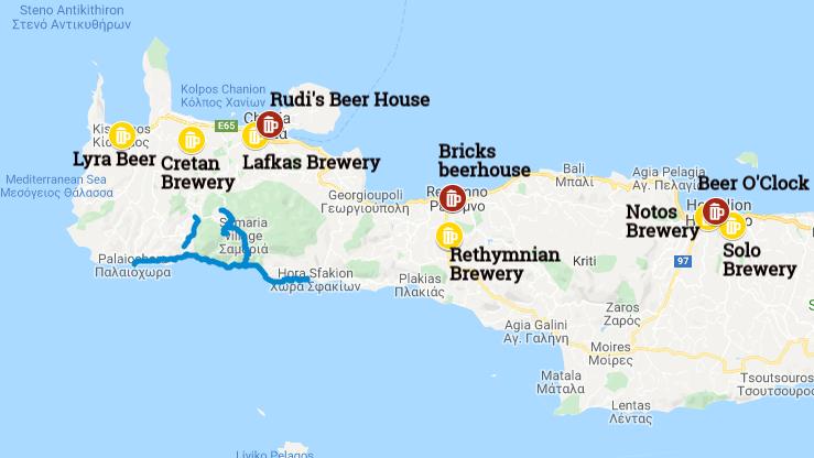 Cretan Beer Highlights