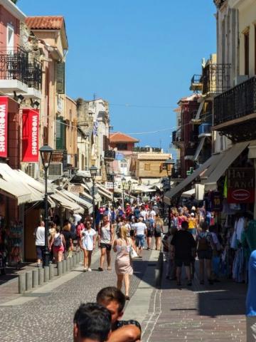 old town pedestrian street
