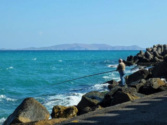 fishing the breakwater