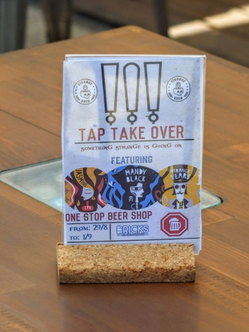 upcoming tap takeover