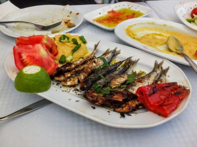 sardine appetizer
