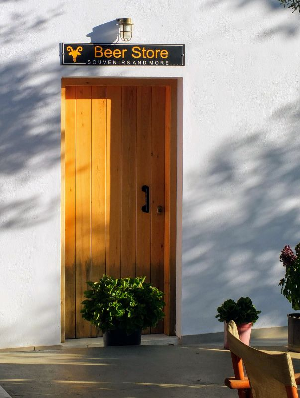 on-site beer store