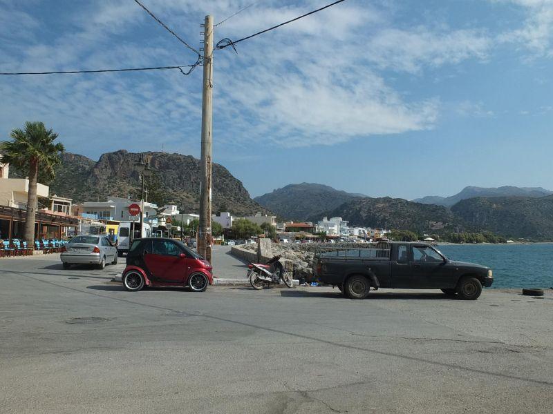 Paleochora seafront
