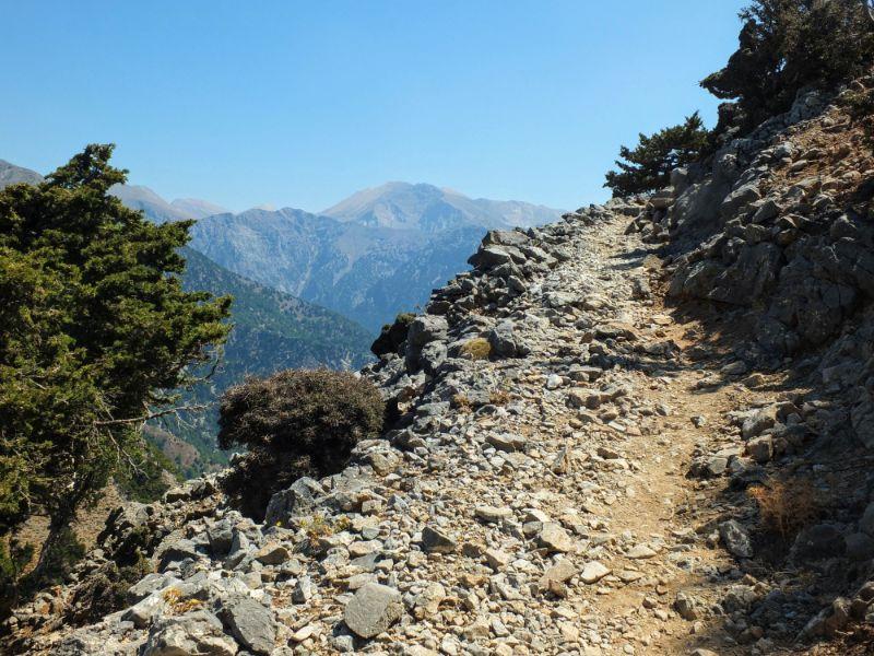 climbing trail