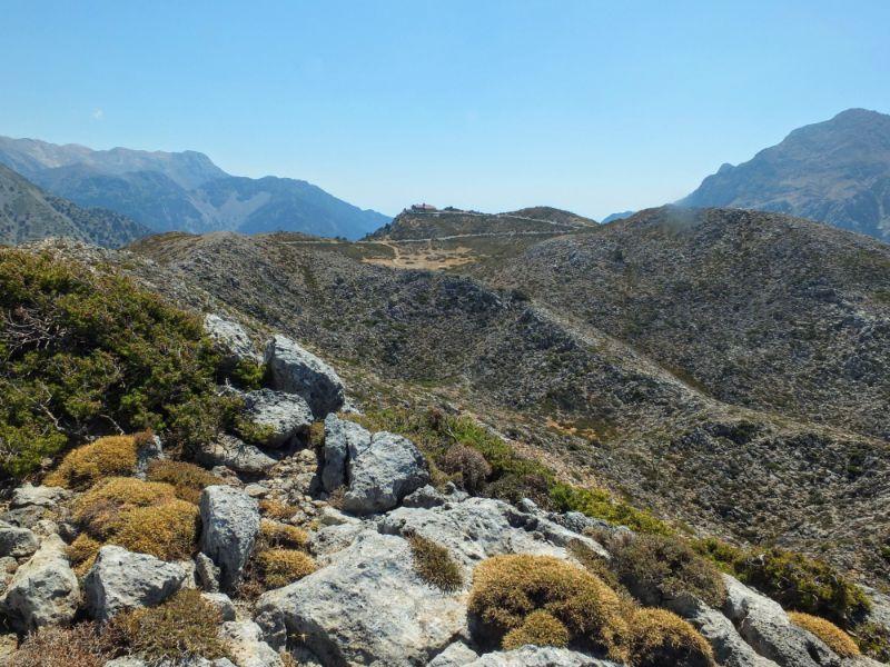 ridgeline to Kallergis