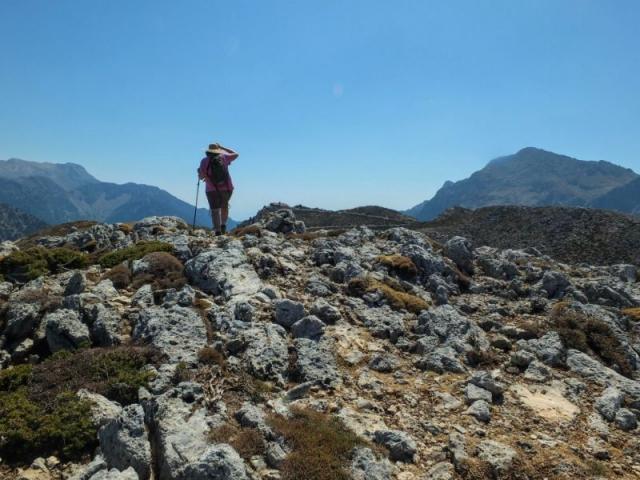 cresting the ridge