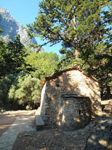 trailside stone chapel