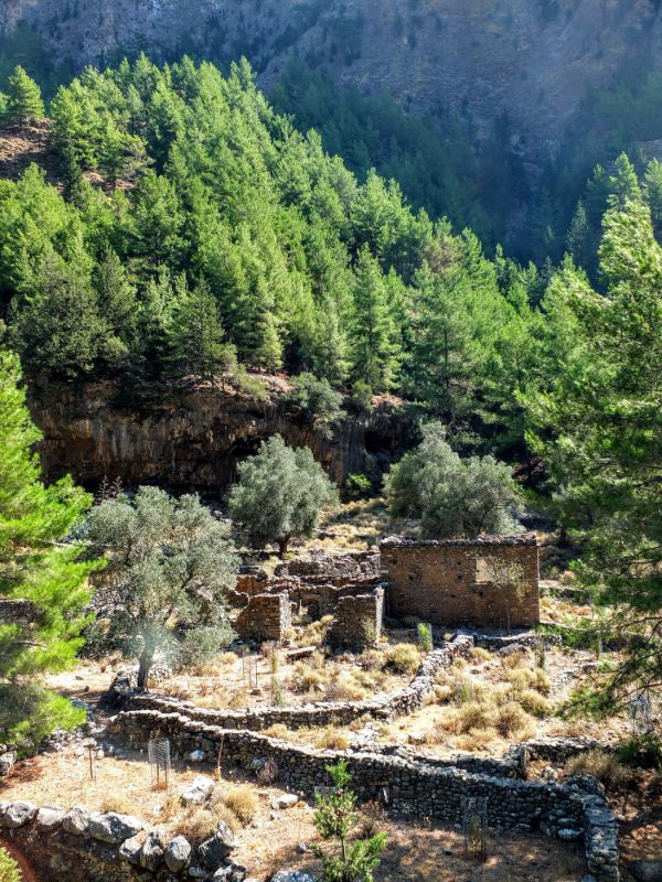 abandoned Samaria village