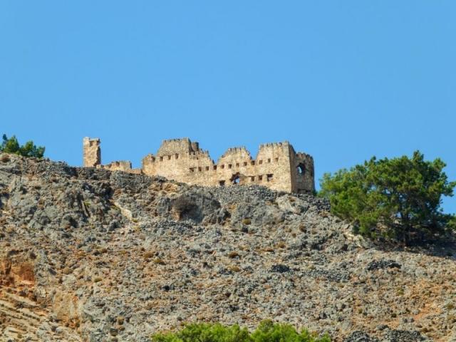 Castle Agia Roumeli